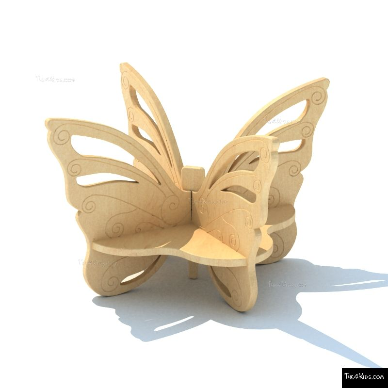 Butterfly Bench The 4 Kids