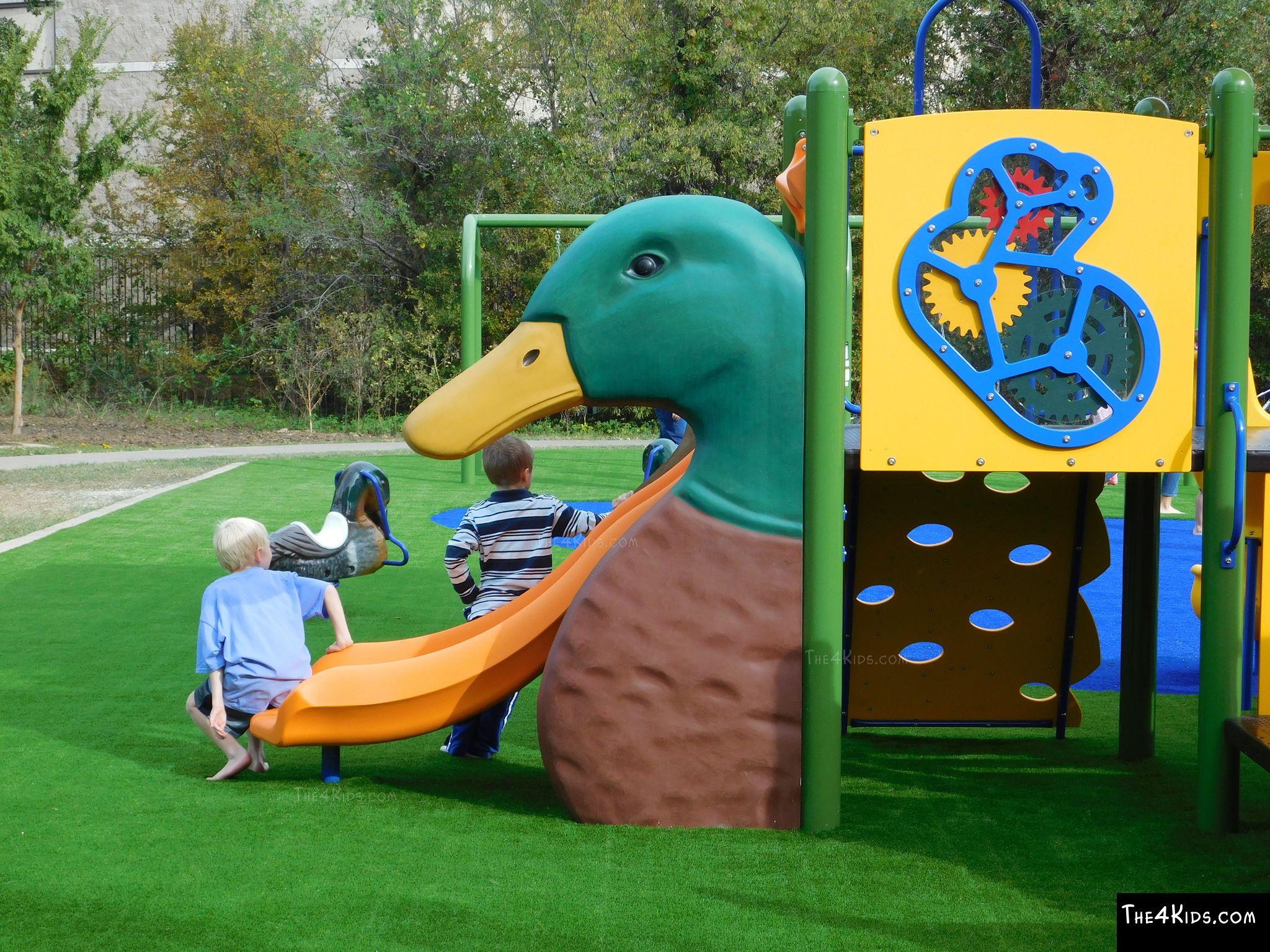 Duck head slide cover the 4 kids for Duck slide plans