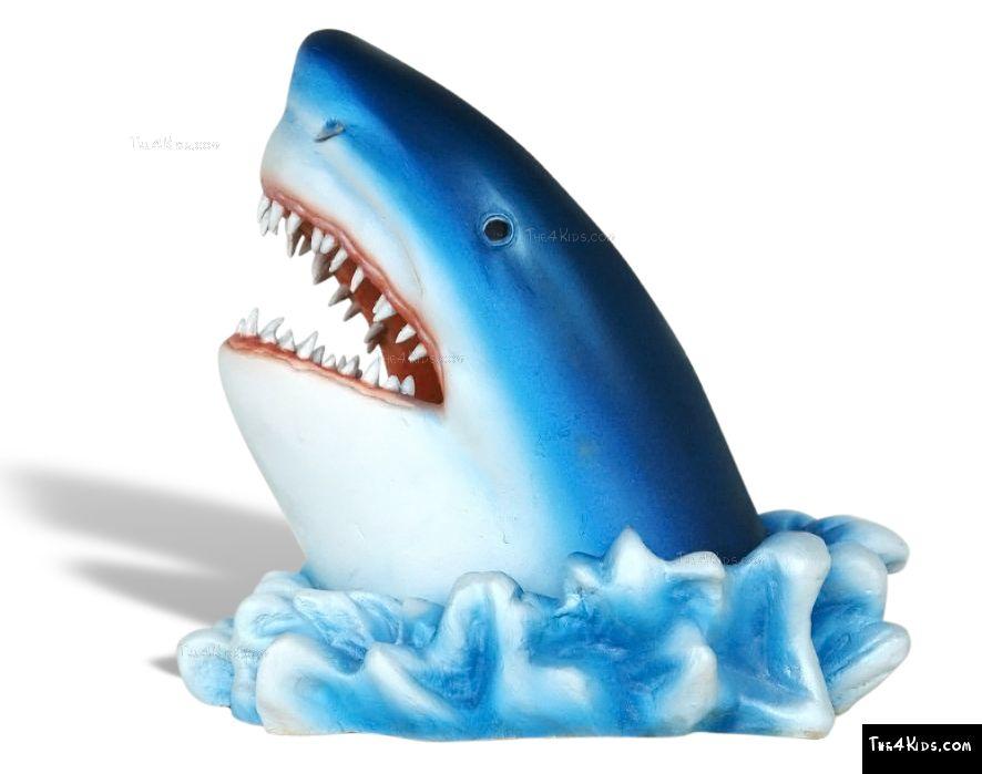 how to make a shark head