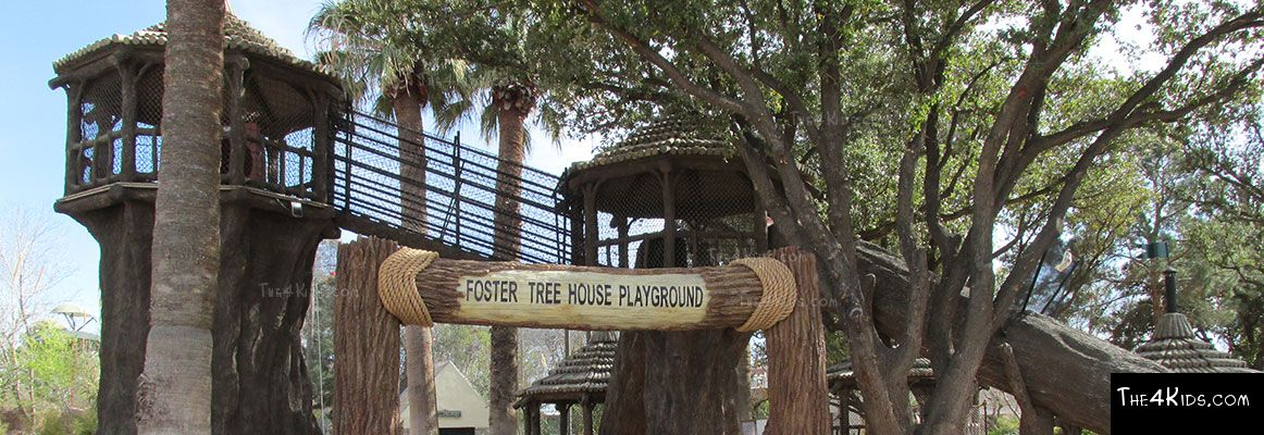 El Paso Zoo, Foster Tree House - Texas Project 7