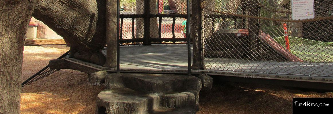 El Paso Zoo, Foster Tree House - Texas Project 9