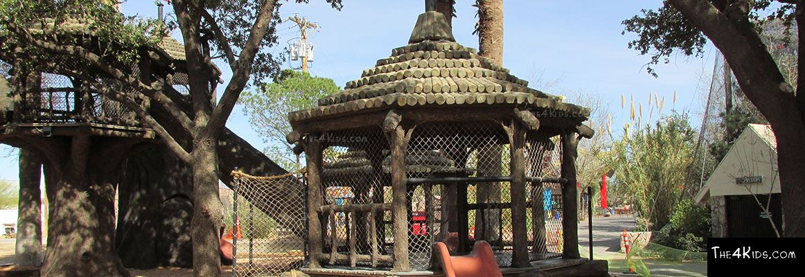 El Paso Zoo, Foster Tree House - Texas Project 10