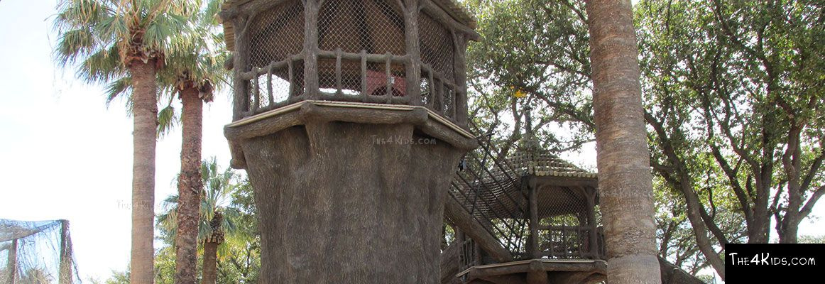 El Paso Zoo, Foster Tree House - Texas Project 11