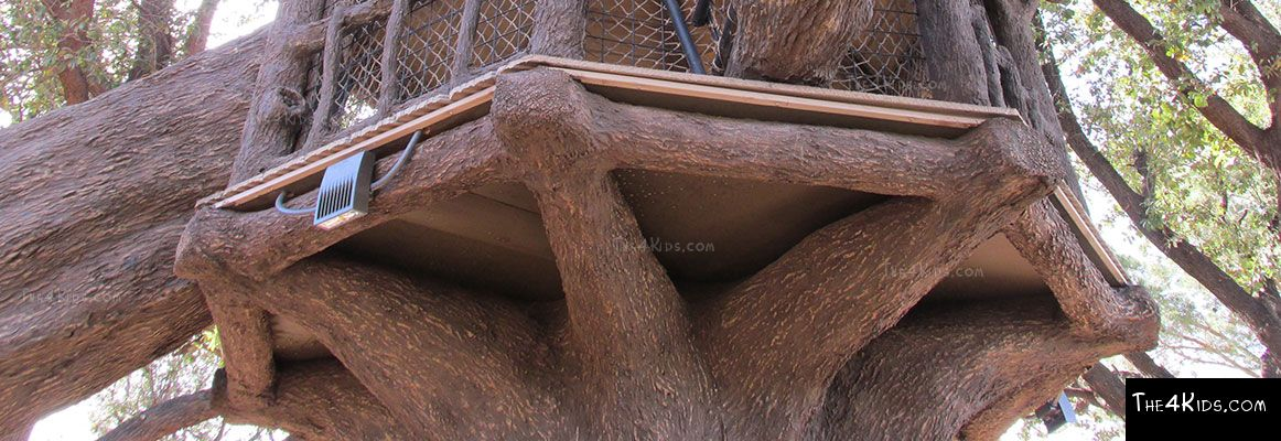 El Paso Zoo, Foster Tree House - Texas Project 15