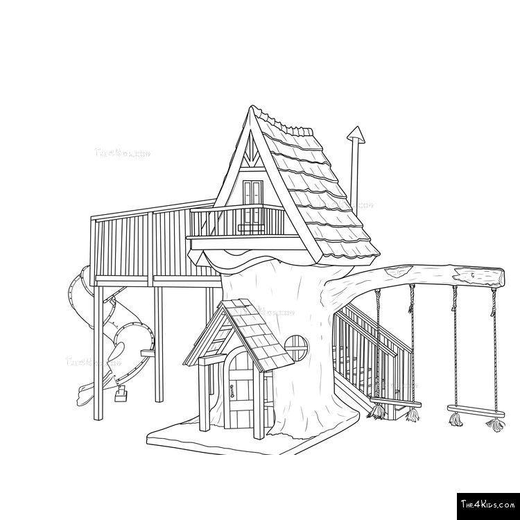 Image of Creekside Cottage Tree House