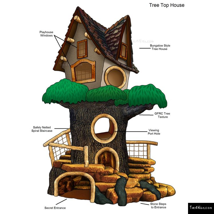 Image of Tree Top Tree House