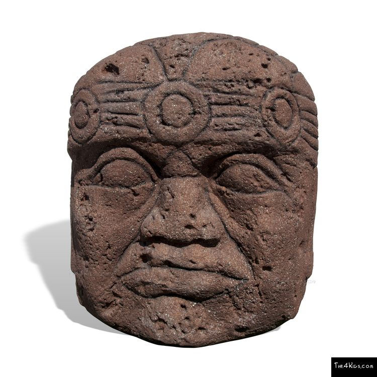 Image of 5ft Olmec Head Climber