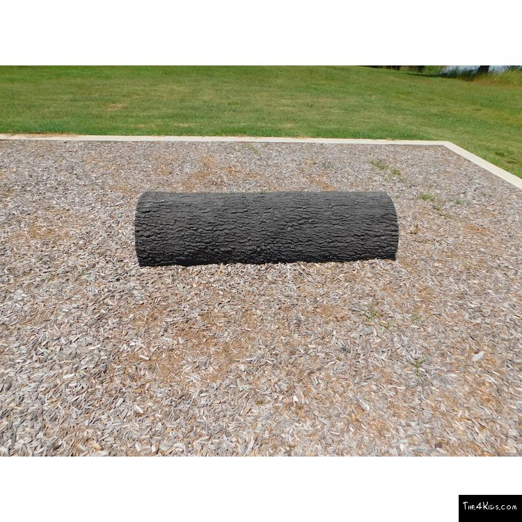 Image of GFRC Log Balance Beam