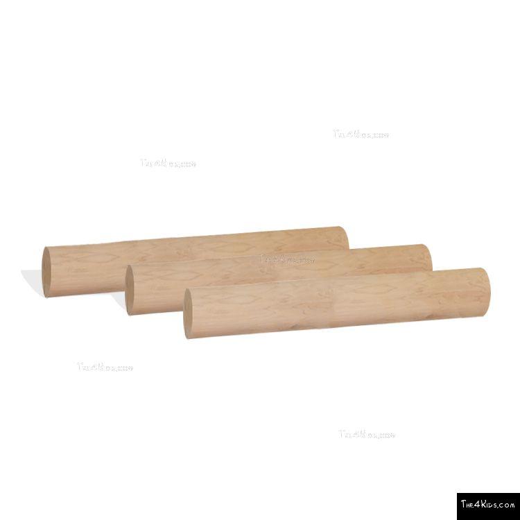 Image of Log Hurdles Bare