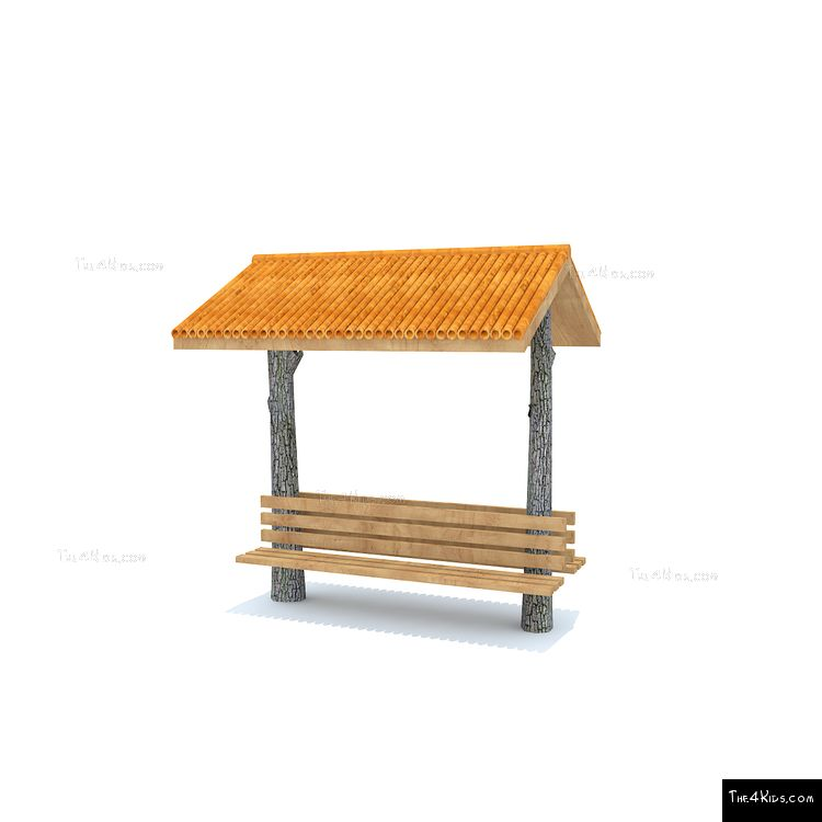 Image of Bridger Double Covered Bench