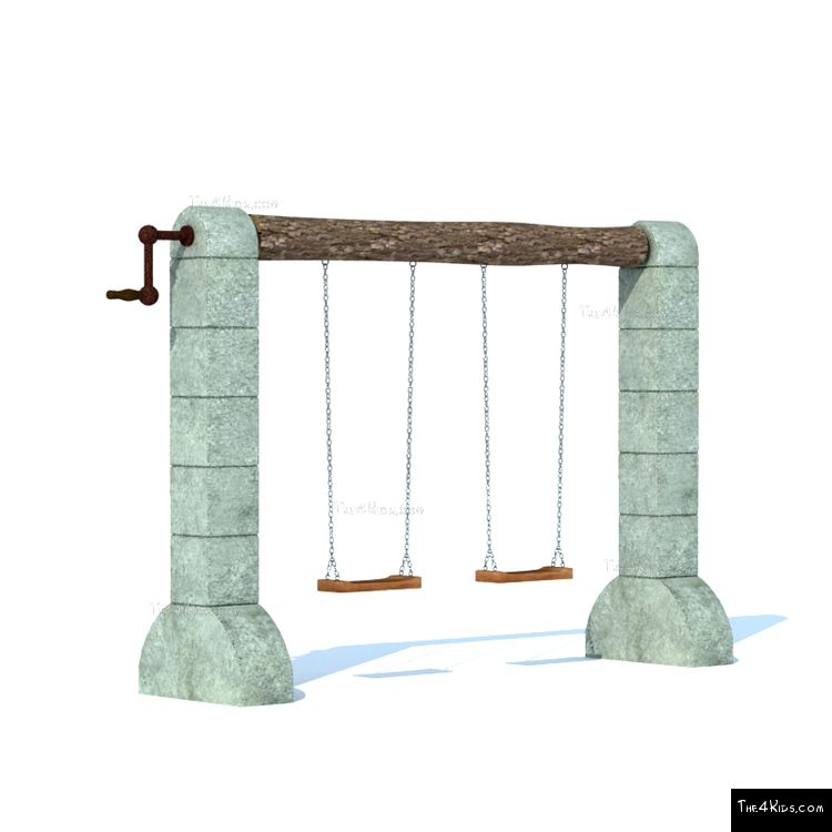 Image of Medieval Castle Swing Set