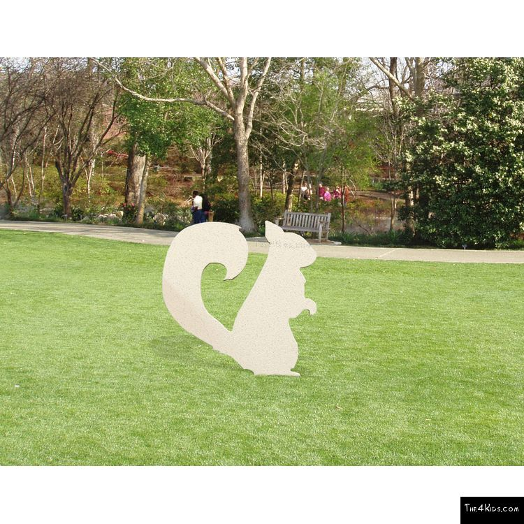 Image of Squirrel Cutout