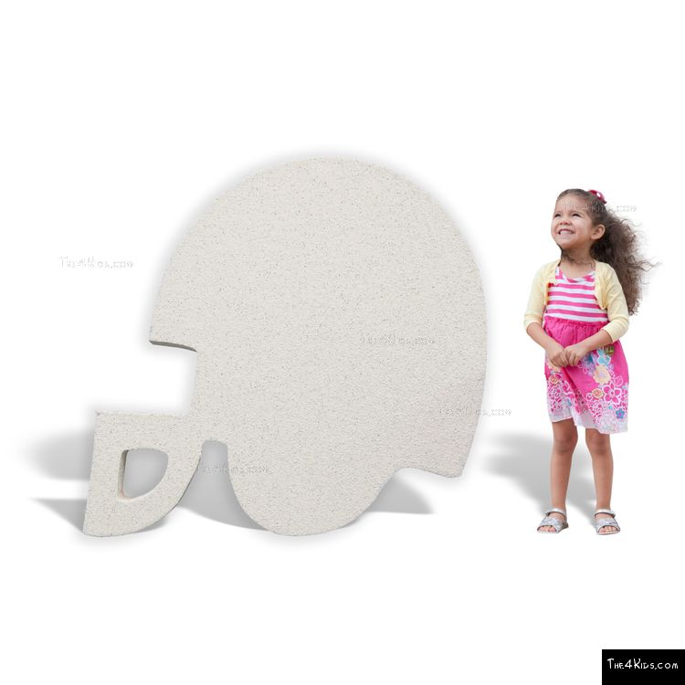 Image of Football Helmet Cutout