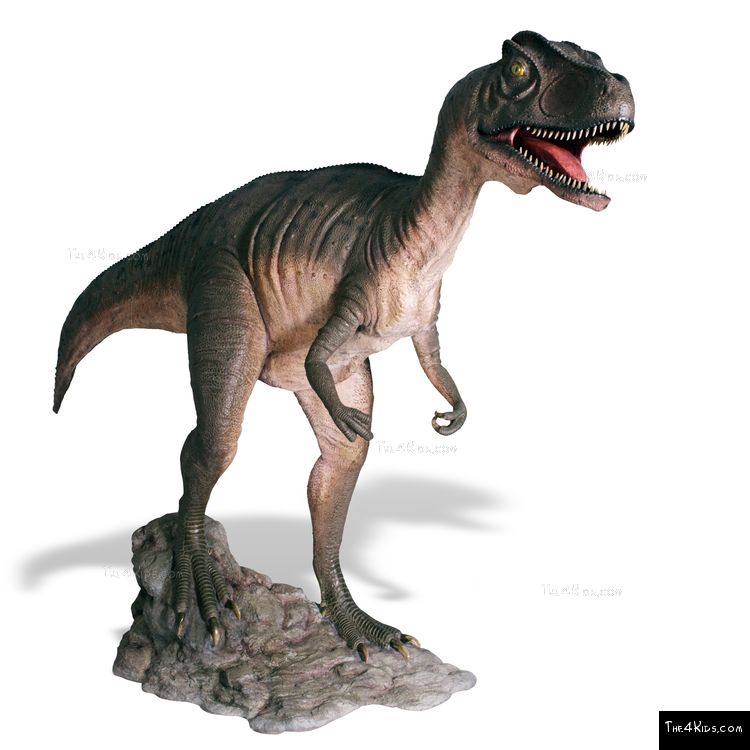 Image of Hunting Allosaurus