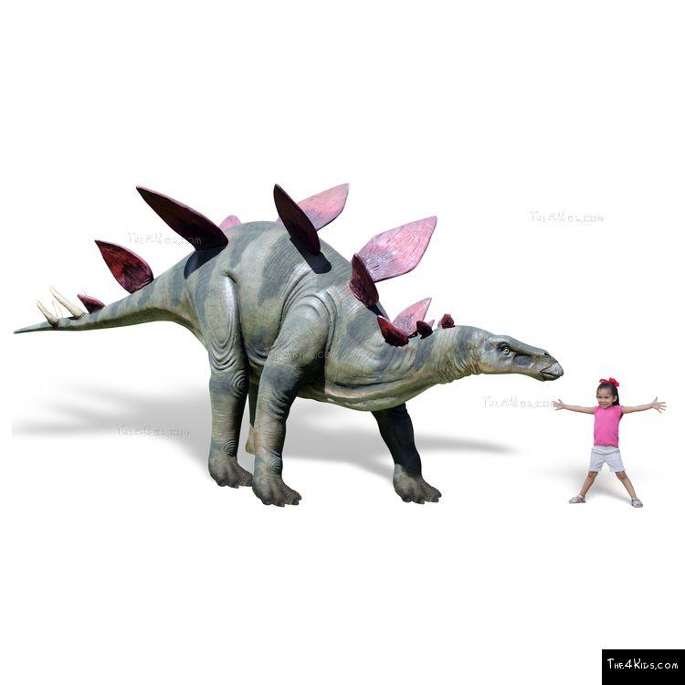 Image of Stegosaurus Sculpture