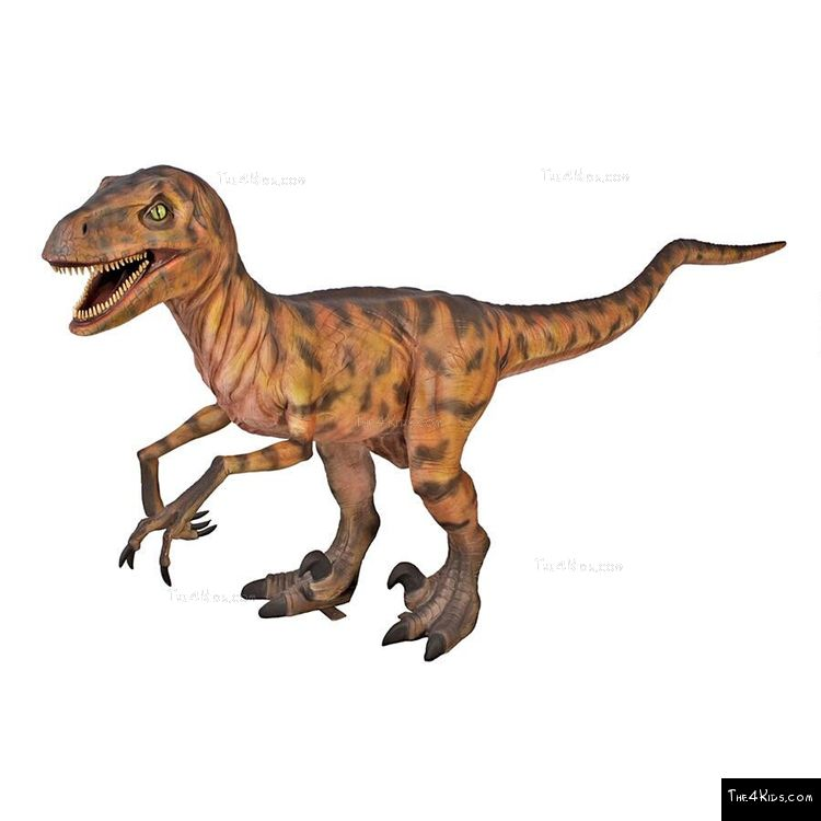 Image of Deinonychus Sculpture