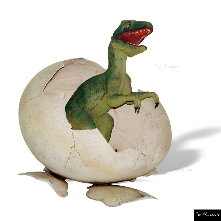 Image of Hatching Baby T-Rex