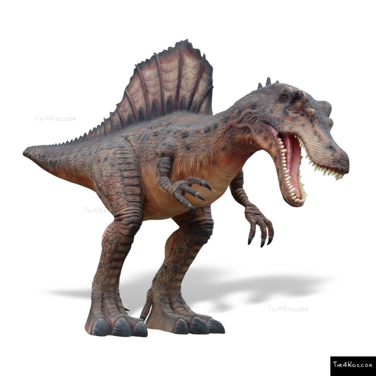 Image of Hunting Spinosaurus