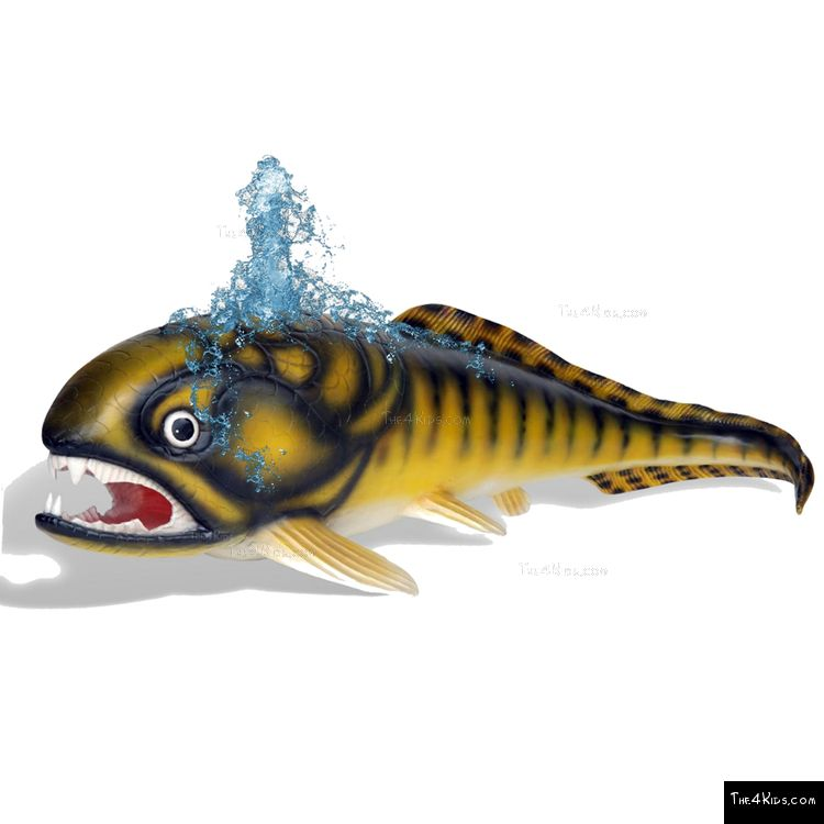 Image of Dunkleosteus Sculpture