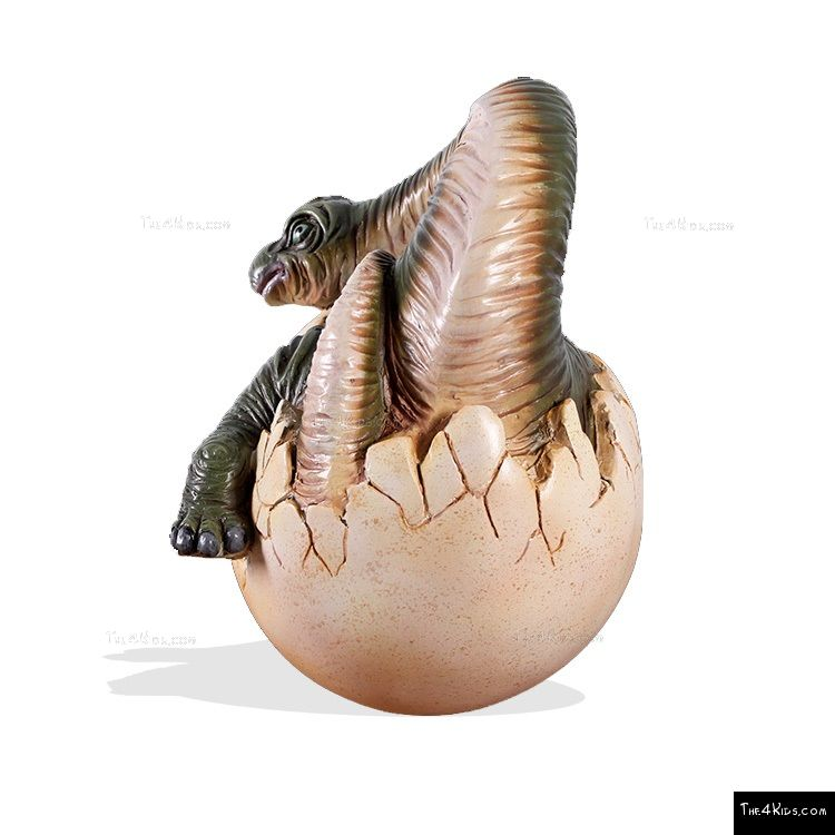 Image of Hatching Brachiosaurus