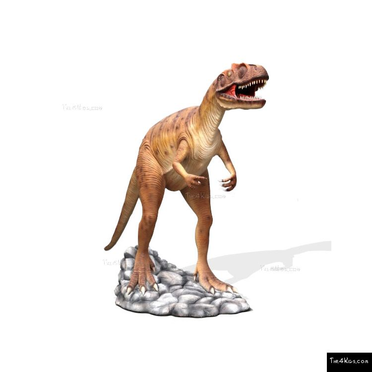 Image of Hunting Allosaurus Brown