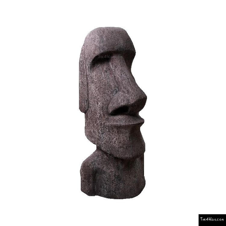 Image of Easter Island Moai Man