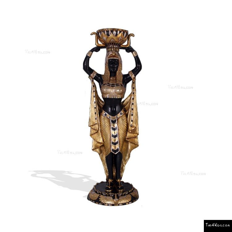 Image of Egyptian Goddess Snake Planter