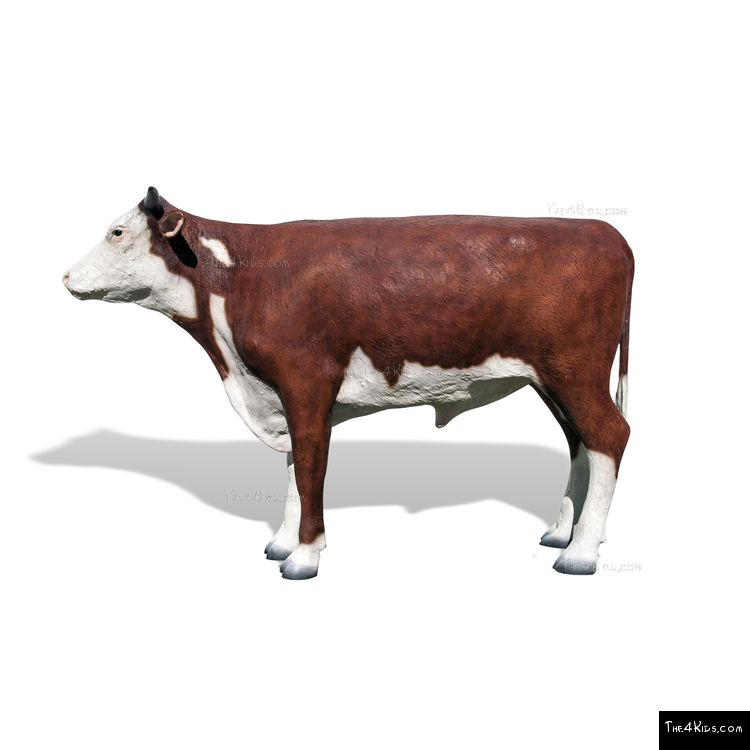 Image of Hereford Steer Play Sculpture