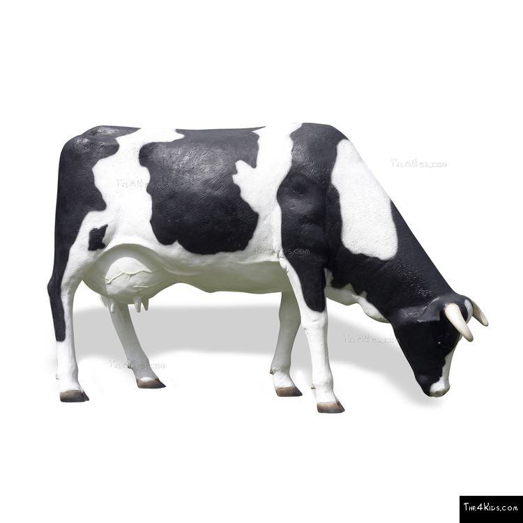 Image of Cow Grazing Play Sculpture