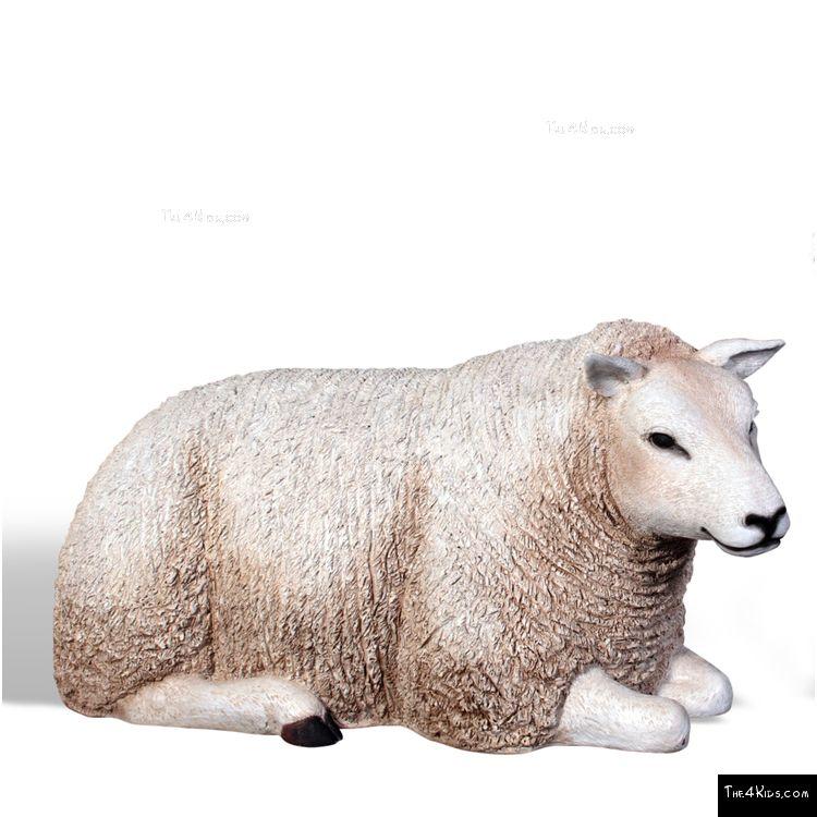 Image of Resting Ewe Play Sculpture