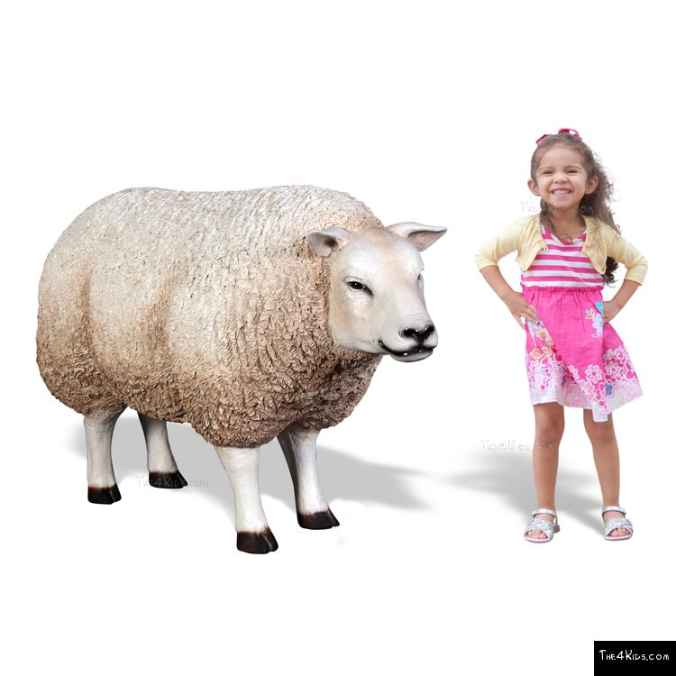 Image of Sheep Play Sculpture