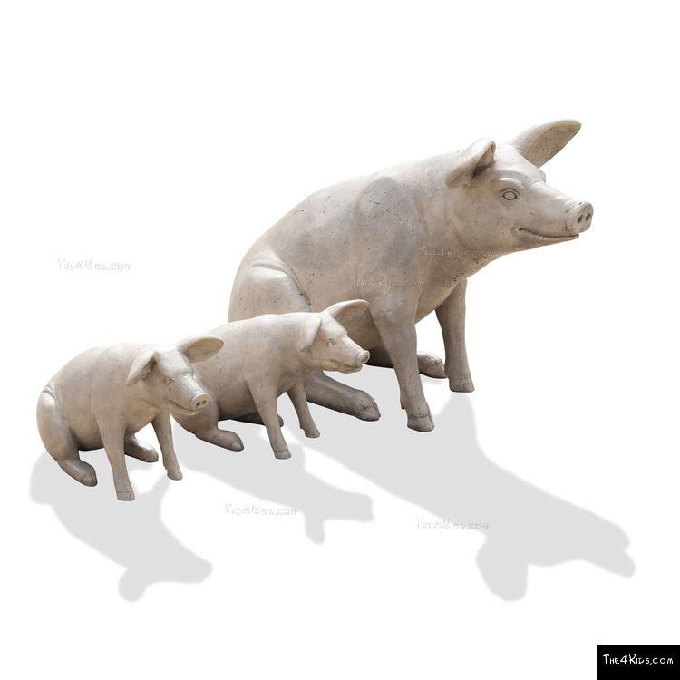 Image of Sitting Piglet