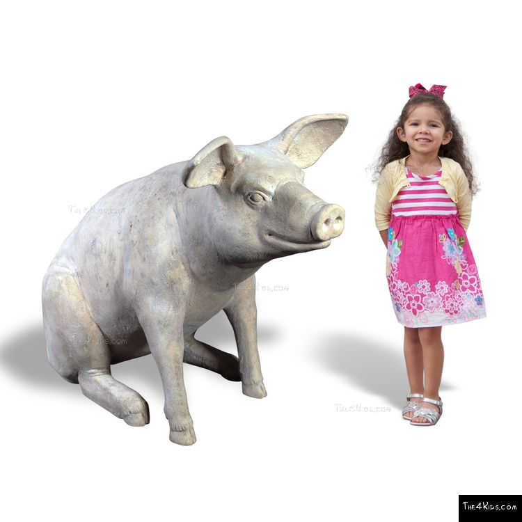 Image of Large Sitting Pig