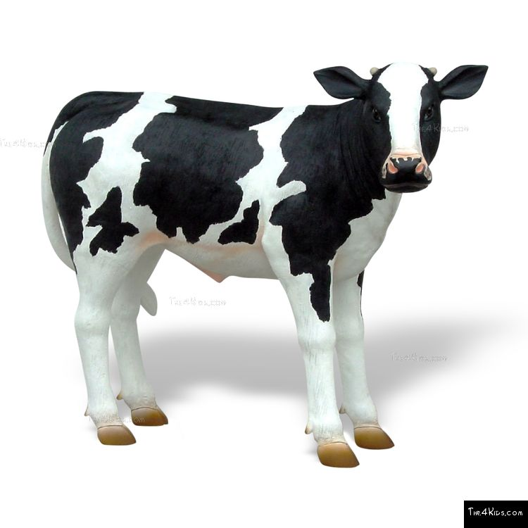 Image of Holstein Calf Sculpture