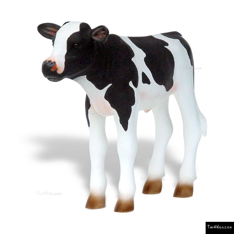 Image of Newborn Holstein Calf Sculpture