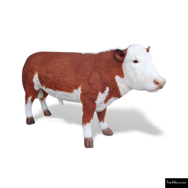 Image of Hereford Bull Sculpture