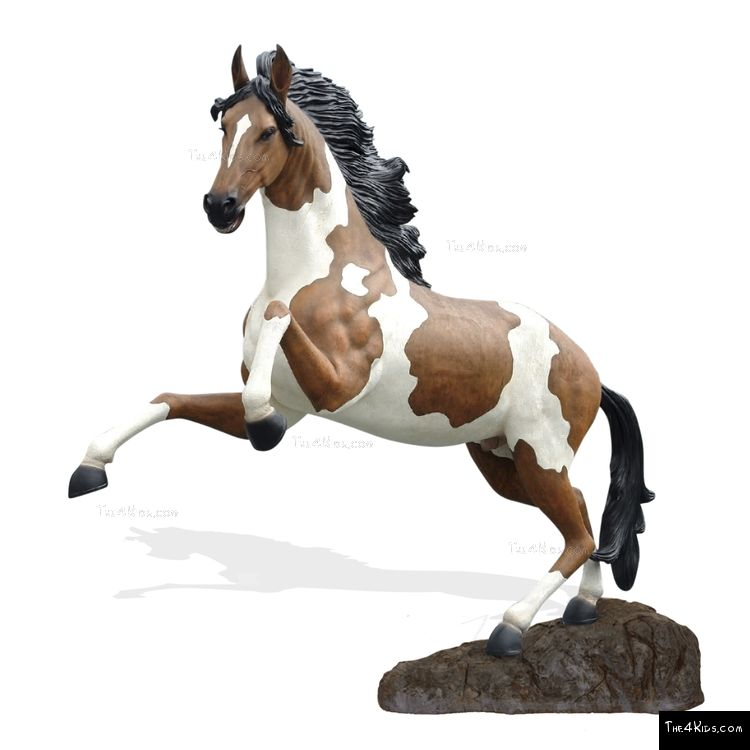 Image of Indian Horse Sculpture