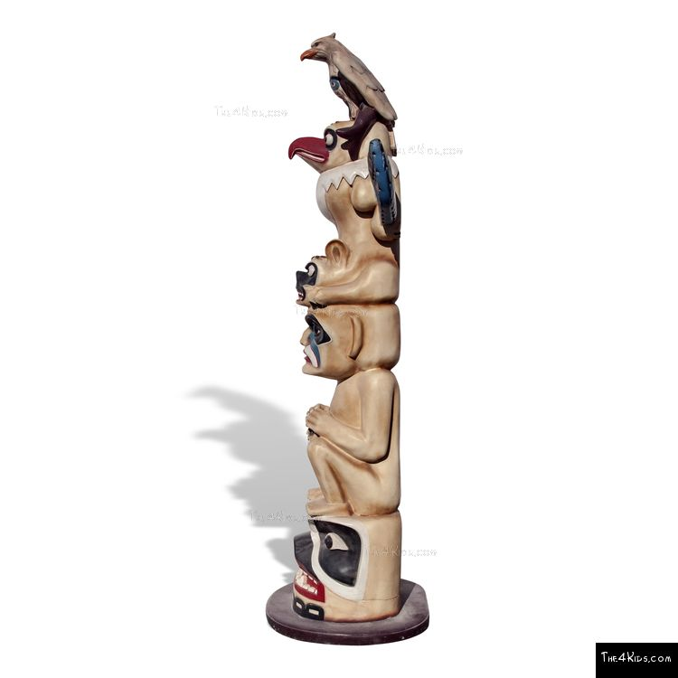 Image of Totem Pole Sculpture