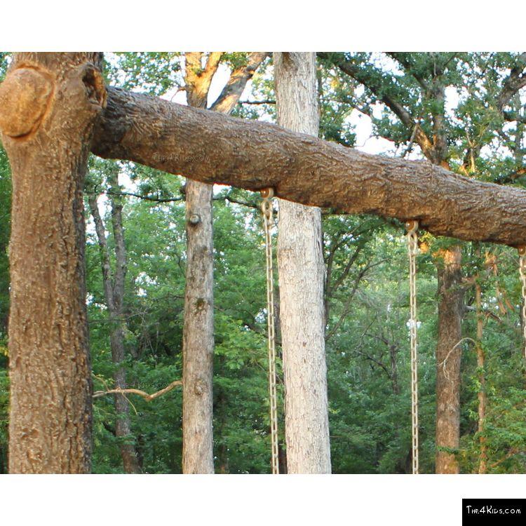 Image of Single Post Swing Set