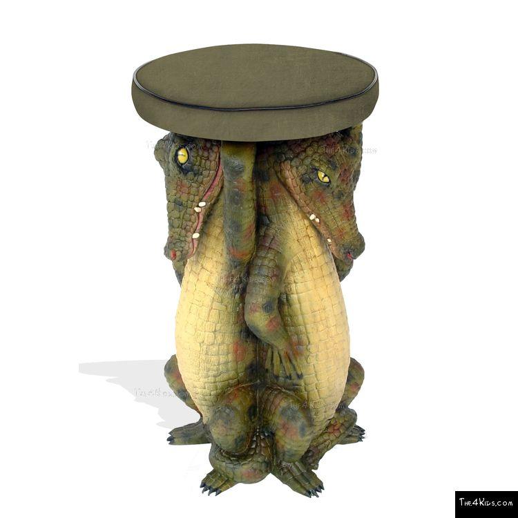 Image of Crocodile Stool
