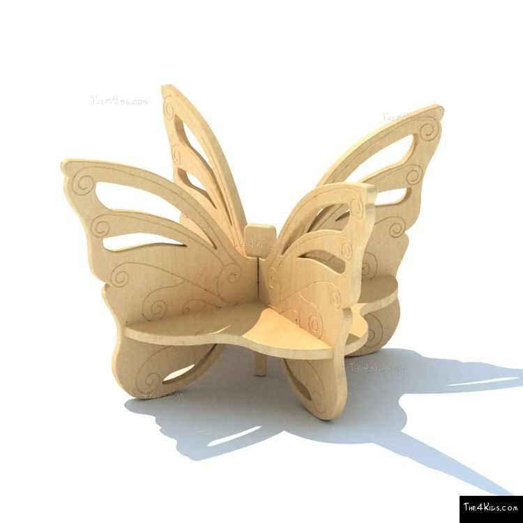 Image of Butterfly Bench