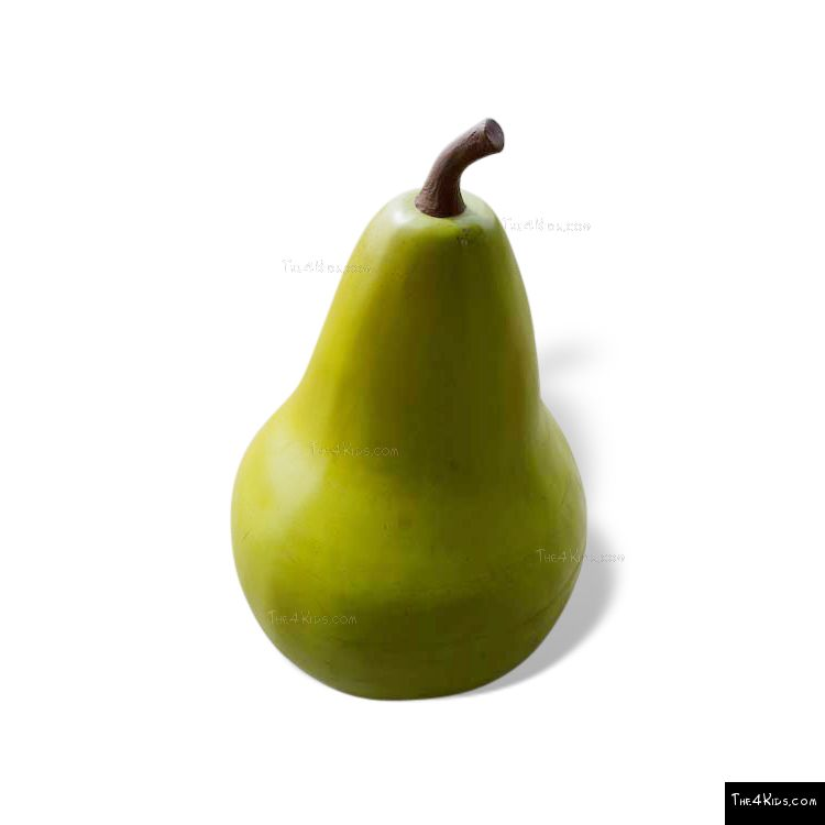 Image of Green Pear Sculpture