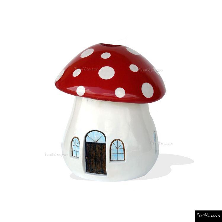 Image of Mushroom Trash Bin