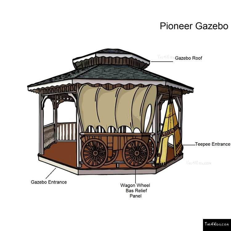 Image of Pioneer Gazebo