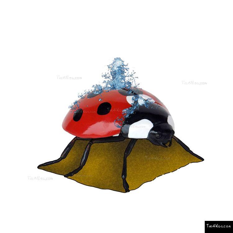 Image of Ladybug Sculpture