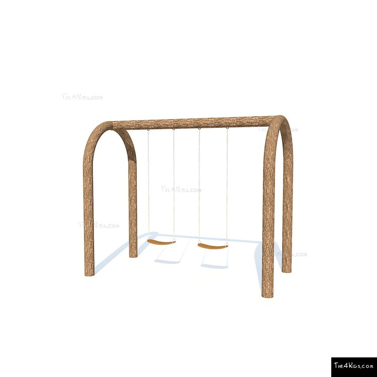 Image of Arched Single Bay Swings