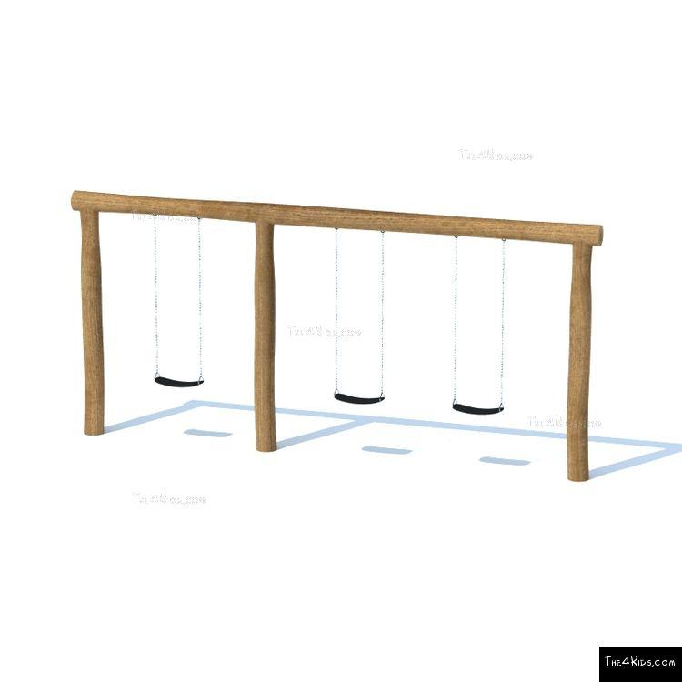 Image of Triple Swing Set