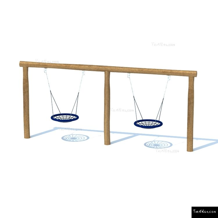 Image of Double Basket Swing Set