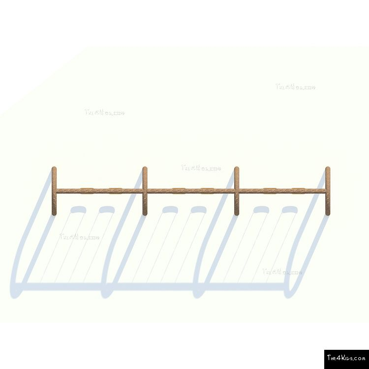 Image of Triple Arches Swing Set