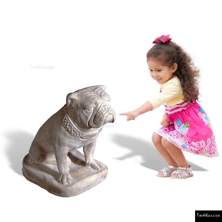 Image of Bulldog Statue